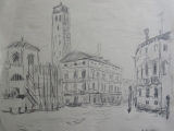 Venecija (eskizas). 2011-1.