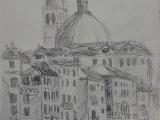 Venecija (eskizas). 2011-5.